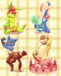 animal_genitalia arms_tied balls banana belt blue_eyes bound bowser cake cake_stripper cherry chocolate collar cum erection eyes_closed food food_play food_transformation forced_transformation fruit greninja gummy_bear half-closed_eyes hollo_nut improvised_sextoy jazz_jackrabbit kneeling knot long_tongue looking_at_viewer lucario male male/male mario_bros multiple_images multiple_poses navel nintendo nipples nude one_arm_up one_leg_up open_mouth orgasm partial_transformation penis pinup pokémon pose pubes red_eyes sitting smile solo spiked_bracelet spikes spread_legs spreading standing strawberry tapering_penis teeth toned tongue translucent video_games   Rating: Explicit  Score: 8  User: Circeus  Date: April 18, 2015