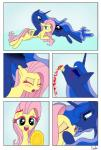 bedroom_eyes blood blush comic cuddling drakxs duo ear_biting equine female female/female feral fluttershy_(mlp) friendship_is_magic gore grimdark half-closed_eyes kissing mammal mutilation my_little_pony pain pegasus princess_luna_(mlp) sadism saliva wings  Rating: Questionable Score: -10 User: silverdash17 Date: August 23, 2014