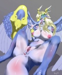 bayth breasts dragon feathered_wings feathers female nude pussy queen royalty saffira_queen_of_dragons scalie solo spread_legs spreading wings yu-gi-oh  Rating: Explicit Score: 41 User: voldosbt Date: April 16, 2015