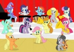 2011 applejack_(mlp) band baritone black_hair blonde_hair blue_fur bonbon_(mlp) carrot_top_(mlp) cello clarinet cub derpy_hooves_(mlp) drum earth_pony equine female feral flute fluttershy_(mlp) friendship_is_magic fur green_eyes green_fur grey_fur group hair hat horn horse looking_at_viewer lyra_heartstrings_(mlp) lyre mammal multicolored_hair musical_instrument my_little_pony octavia_(mlp) orange_hair pegasus piano pink_fur pink_hair pinkie_pie_(mlp) pony purple_hair rainbow_dash_(mlp) rainbow_hair rarity_(mlp) shutterflye trixie_(mlp) trombone trumpet tuba twilight_sparkle_(mlp) two_tone_hair unicorn violin wings xylophone yellow_fur young  Rating: Safe Score: 3 User: Trapper Date: June 07, 2011