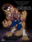 2012 4_toes anthro beast_(disney) beauty_and_the_beast bracelet catmonkshiro claws clothing collar disney doryuu fur horn jeans jewelry legwear male paws plaid shirt socks solo toes transformation unknown_species   Rating: Safe  Score: 3  User: PheagleAdler  Date: February 14, 2012