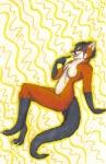 "anthro black_hair breasts canine female fishing_genet fox genet hair kairithekat mammal nude solo viverrid  Rating: Questionable Score: 2 User: TonyLemur Date: August 14, 2009"""