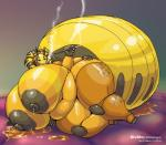 anthro areola arthropod bee big_areola big_breasts big_nipples breasts female honey huge_breasts insect lactating nipples nude overweight smoke smoking solo vdisco wide_hips   Rating: Questionable  Score: 4  User: ads7452  Date: March 16, 2015