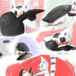 <3 balls balls_touching blush comic cum dreamworks duo erection frottage king_julien lemur madagascar male male/male mammal modestgliscor penis primate sex skipper the_penguins_of_madagascar  Rating: Explicit Score: 6 User: Zest Date: December 23, 2014