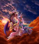 2015 <3 blush discord_(mlp) draconequus duo equine feathered_wings feathers female friendship_is_magic horn hug kissing male mammal my_little_pony princess_celestia_(mlp) stepandy winged_unicorn wings  Rating: Safe Score: 18 User: Robinebra Date: June 24, 2015