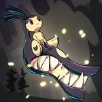 abstract_background female mawile nintendo parody pokémon red_eyes sharp_teeth skullgirls solo teeth video_games zedrin-maybe   Rating: Safe  Score: 6  User: ROTHY  Date: February 18, 2015