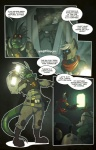anthro cat cleavage clothed clothing comic corpse death dialogue drawholic english_text eyewear feline female fiction getta graphic_novel iguana lamp lizard male mammal manga reptile rhinoceros scalie science_fiction siamese su text torch wilm  Rating: Safe Score: 3 User: Drawholic Date: October 25, 2014