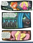 changeling comic english_text equine female fluttershy_(mlp) friendship_is_magic horn horse mammal my_little_pony original_character pablofiorentino pegesus pony queen_chrysalis_(mlp) smile text tumblr wings   Rating: Safe  Score: 1  User: darknessRising  Date: March 06, 2014