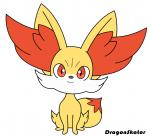 ambiguous_gender animated big_ears canine chibi cute dipstick_tail dragonskator fennekin feral huge_head inner_ear_fluff looking_at_viewer mammal multicolored_tail nintendo pokémon red_eyes solo tailwag toony video_gamesRating: SafeScore: 8User: MahoxyDate: July 04, 2017