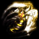 ambiguous_gender antennae arthropod bee beedrill hornet insect nintendo pokémon red_eyes solo stinger video_games wasp yilx   Rating: Safe  Score: 1  User: DeltaFlame  Date: February 08, 2015