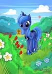 2015 arthropod butterfly cute equine female feral friendship_is_magic horn insect mammal my_little_pony mysticalpha princess_luna_(mlp) solo winged_unicorn wings  Rating: Safe Score: 13 User: Robinebra Date: June 19, 2015""