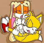 clothing cream_the_rabbit cum drooling duo eyes_closed female footwear gloves male male/female miles_prower open_mouth perverted_bunny saliva shirt_cuffs shoes sonic_(series) sweat vaginal  Rating: Explicit Score: 0 User: Untamed Date: September 08, 2015