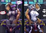 2015 anthro big_breasts breasts canine dialogue english_text fangs feline female link2004 male male/female mammal nipples nude penetration sabertooth sex text vaginal   Rating: Explicit  Score: 14  User: Numeroth  Date: May 24, 2015