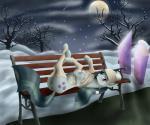 2015 anus blush digital_media_(artwork) earth_pony equine friendship_is_magic horse lying mammal marble_pie_(mlp) my_little_pony on_back outside pony pussy smile snow solo szafir87 winter  Rating: Explicit Score: 20 User: Szafir87 Date: November 01, 2015