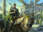 armor canine cape city cityscape duo_focus feral group holding_weapon human magic_the_gathering male mammal matt_stewart official_art quadruped reins riding robe saddle sword weapon wolf   Rating: Safe  Score: 7  User: Circeus  Date: January 16, 2015