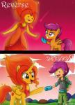 2015 adventure_time duo equine female flame_princess friendship_is_magic horn human mammal my_little_pony oven_mitt pegasus ponification scootaloo_(eg) scootaloo_(mlp) the-butch-x the-butcher-x winged_unicorn wings  Rating: Safe Score: 5 User: 2DUK Date: July 02, 2015""