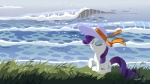 cutie_mark equine eyes_closed eyeshadow female feral friendship_is_magic fur hat horn makeup mammal my_little_pony rarity_(mlp) sea solo unicorn water white_fur   Rating: Safe  Score: 2  User: Kholchev  Date: July 16, 2012