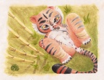 2013 anthro anus cub feline female kung_fu_panda master_tigress nipples nude pussy red_eyes solo tiger young   Rating: Explicit  Score: 17  User: zekromlover  Date: August 18, 2013