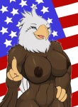2013 america american_flag beak big_breasts blue_eyes breasts droll3 eagle female flag happy navel nipples nude pose solo stars stripes usa wings   Rating: Explicit  Score: 21  User: misspriss  Date: February 27, 2013