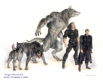 2000 alane_fieldson anthro beige_skin biped black_hair black_pants black_shirt canine dire_wolf eyewear facial_hair feral front_view full-length_portrait fur goatee grey_fur hair human laced_boots looking_at_viewer low_res male mammal model_sheet multiple_poses pose quadruped roger_remillard simple_background snarling standing sunglasses three-quarter_view traditional_media_(artwork) transformation trenchcoat were werewolf white_background wolf  Rating: Safe Score: 3 User: CatBox Date: July 16, 2013