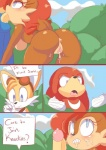 anthro anus breasts canine cloudz comic echidna erection female fox group hedgehog knuckles_the_echidna male male/female mammal miles_prower monotreme oral penis pussy rodent sally_acorn sega sex sonic_(series) sonic_the_hedgehog squirrel   Rating: Explicit  Score: 5  User: Mcnair32  Date: March 11, 2015