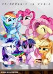 2015 applejack_(mlp) blue_eyes cherry cider dessert drink drinking equine eyes_closed f.r.i.e.n.d.s female fluttershy_(mlp) food friends friendship_is_magic glowing green_eyes group hair horn ice_cream levitation mammal milkshake multicolored_hair my_little_pony one_eye_closed pegasus pepooni pinkie_pie_(mlp) purple_eyes rainbow_dash_(mlp) rainbow_hair rarity_(mlp) sparkles straw twilight_sparkle_(mlp) unicorn winged_unicorn wings wink  Rating: Safe Score: 13 User: 2DUK Date: July 25, 2015