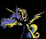 """absurd_res alpha_channel angry brunursus equine female feral friendship_is_magic hi_res horn mammal my_little_pony plain_background princess_luna_(mlp) solo transparent_background winged_unicorn wings  Rating: Safe Score: 8 User: Robinebra Date: June 08, 2015"""""""