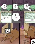 bear bed black_fur blush brown_fur comic computer dating_profile dialogue drawing duo embarrassed end_table excited feline food fur graft_(artist) grizzly_(character) ice_bear internet male male/male mammal panda panda_(character) pillow rollerskates smile tiger vase we_bare_bears white_fur  Rating: Questionable Score: 5 User: zidanes123 Date: September 26, 2015