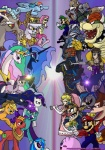 applejack_(mlp) avian big_macintosh_(mlp) blonde_hair blue_eyes bowser canine captain_falcon clothed clothing collar cowboy_hat crossover crown cutie_mark discord_(mlp) donkey_kong donkey_kong_(character) draconequus equine eye_patch eyewear f-zero female feral fluttershy_(mlp) fox fox_mccloud friendship_is_magic game_and_watch ganondorf gilda_(mlp) glasses goggles green_eyes gryphon hair hat horn horse human kirby kirby_(series) koopa link lucario luigi male mammal mario mario_bros mask meta_knight mr._game_and_watch multi-colored_hair my_little_pony nightmare_moon_(mlp) nintendo pegasus pinkie_pie_(mlp) pokémon pony primogenitor34 princess princess_celestia_(mlp) princess_luna_(mlp) princess_peach princess_zelda purple_eyes rainbow_dash_(mlp) rainbow_hair rarity_(mlp) red_eyes royalty scalie spiked_collar spitfire_(mlp) star_fox the_legend_of_zelda trixie_(mlp) twilight_sparkle_(mlp) umbrella unicorn video_games vinyl_scratch_(mlp) wario winged_unicorn wings wolf wolf_o'donnell wonderbolts_(mlp) yellow_eyes   Rating: Safe  Score: 14  User: Falord  Date: September 08, 2012