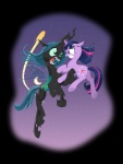 2015 alpha_channel andy_price changeling duo equine female feral fight friendship_is_magic horn mammal my_little_pony queen_chrysalis_(mlp) twilight_sparkle_(mlp) unicorn  Rating: Safe Score: 11 User: Robinebra Date: August 29, 2015