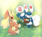 <3 ambiguous_gender basket buneary cat crying egg eyes_closed feline female grass group joltik92 kneeling lagomorph lopunny male mammal meowstic multiple_eyes nintendo open_mouth outside plant pokémon rabbit red_eyes smile standing tears video_games   Rating: Safe  Score: 12  User: NSFW  Date: April 08, 2015