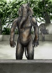 anthro elephant male mammal nude solo uziga_waita what what_has_science_done zoological_gardens  Rating: Safe Score: 2 User: msc Date: October 04, 2008