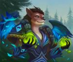 anthro canine clothing druid feathers female lowly-owly magic magic_user mammal pine_tree robe solo tree tribal_spellcaster video_games warcraft were werewolf worgen  Rating: Safe Score: 25 User: Arkin Date: January 01, 2016