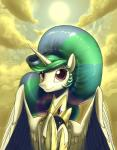 2015 cloud crown equine female friendship_is_magic gold_(metal) hair horn looking_at_viewer mammal multicolored_hair my_little_pony outside princess_celestia_(mlp) purple_eyes solo sun valcron winged_unicorn wings  Rating: Safe Score: 11 User: 2DUK Date: July 26, 2015