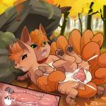 2015 animal_genitalia animal_penis autumn balls blush canine canine_penis clitoris cum cum_inside cumshot drooling duo erection female feral feral_on_feral fox from_behind_position hi_res insomniacovrlrd internal knot knotting male male/female mammal moss mushroom nintendo orgasm outside penetration penis pokémon presenting presenting_pussy pussy rock saliva sex spread_legs spreading tree vaginal vaginal_penetration video_games vulpix  Rating: Explicit Score: 43 User: furfaggot2 Date: May 02, 2015