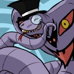 arbok eyes_closed eyewear forked_tongue gentleman hat humor monocle nintendo pokémon reptile rubymight scalie snake solo teeth terribly_british tongue top_hat video_games   Rating: Safe  Score: 15  User: slyroon  Date: November 26, 2013