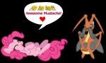 2012 <3 alpha_channel blush crossover cutie_mark dialogue duo earth_pony english_text equine female feral friendship_is_magic horse kricketune kriketune laugh lying mammal my_little_pony nintendo on_back pinkie_pie_(mlp) pokémon pokémon_(species) pony seaandsunshine shiny_pokémon simple_background sweat sweatdrop text transparent_background video_gamesRating: SafeScore: 0User: darknessRisingDate: August 11, 2013