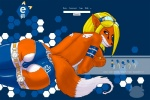 anthro butt camel_toe canine clothing e621 female fox legwear mammal mascot mascot_contest muq panties solo stockings underwear  Rating: Questionable Score: 8 User: marius Date: February 23, 2010