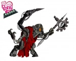 5:4 adeptus_mechanicus armor artificial_limbs axe crossover equine helmet hi_res horse male mammal melee_weapon my_little_pony pony simple_background solo tech_priest unknown_artist warhammer_(franchise) weapon white_background
