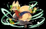 anthro big_breasts big_butt blush breasts butt canine chubby cleavage clothed clothing female fox hair huge_butt kemono legwear long_hair looking_at_viewer mammal microphone shinobe skimpy stockings   Rating: Questionable  Score: 8  User: SkokiaanFox  Date: April 12, 2015