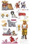 all_fours annoyed boots bow burmecian canine clothed clothing dialogue emlan english_text female feral final_fantasy final_fantasy_ix freya_crescent fur groomed hair male mammal pants pillow shirt shovel tank_top text ungroomed video_games   Rating: Safe  Score: 0  User: Notkastar  Date: May 22, 2015