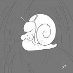 artistic breasts faceless female gastropod line_art monochrome shell simple_background snail solo zp92  Rating: Questionable Score: 7 User: zp92 Date: March 02, 2014