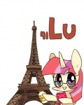 2015 book bottle eiffel_tower equine eyewear female friendship_is_magic glasses horn joycall3 lutetium mammal moondancer_(mlp) my_little_pony paris purple_eyes solo unicorn  Rating: Safe Score: 7 User: 2DUK Date: July 17, 2015
