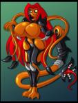 alien animewave big_breasts breasts female hair red_hair solo tentacles yellow_eyes  Rating: Questionable Score: 2 User: Juni221 Date: November 08, 2013""