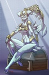 2009 armor blue_body colored female jaeh marine naturally_censored nude princess_ruto sunlight the_legend_of_zelda treasure treasure_chest video_games zora   Rating: Questionable  Score: 5  User: Rykela  Date: January 05, 2013