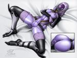 alien balls breasts butt clothed clothing dickgirl intersex mask mass_effect nipples penis quarian solo   Rating: Explicit  Score: 7  User: kiwimans1  Date: January 06, 2014