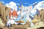 ambiguous_gender cat cosplay digimon feline gatomon gomamon iguky-neky magic_user mammal seal  Rating: Safe Score: 2 User: The_Gazi_Pack Date: June 03, 2015