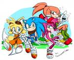 amy_rose anthro bandage blue_eyes blush canine clothed clothing crossgender drawloverlala echidna female fox gloves green_eyes group hat hedgehog knuckles_the_echidna looking_at_viewer male mammal miles_prower monotreme purple_eyes sonic_(series) sonic_(sonic) sonic_boom  Rating: Safe Score: 6 User: Juni221 Date: July 19, 2015
