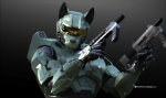 3d_(artwork) ambiguous_gender anthro armor canine cgi digital_media_(artwork) dutch02 gun halo_(series) helmet holding_weapon mammal master_chief ranged_weapon solo spartan_(halo) video_games weapon  Rating: Safe Score: 23 User: Munkelzahn Date: July 07, 2013