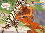 alex_the_lion balls crossgender dreamworks equine erection feline female lion madagascar male mammal marty_the_zebra penis pussy zebra   Rating: Explicit  Score: -5  User: trolll  Date: March 11, 2014